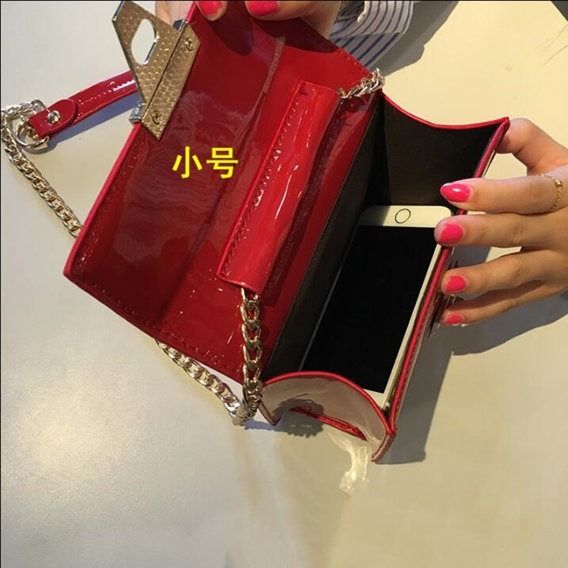 Women Jelly Bag Ladies Messener Bags Beach Small Red Mini Transparent Chain Cross body Bags Female Shoulder Bag Bolas Mujer