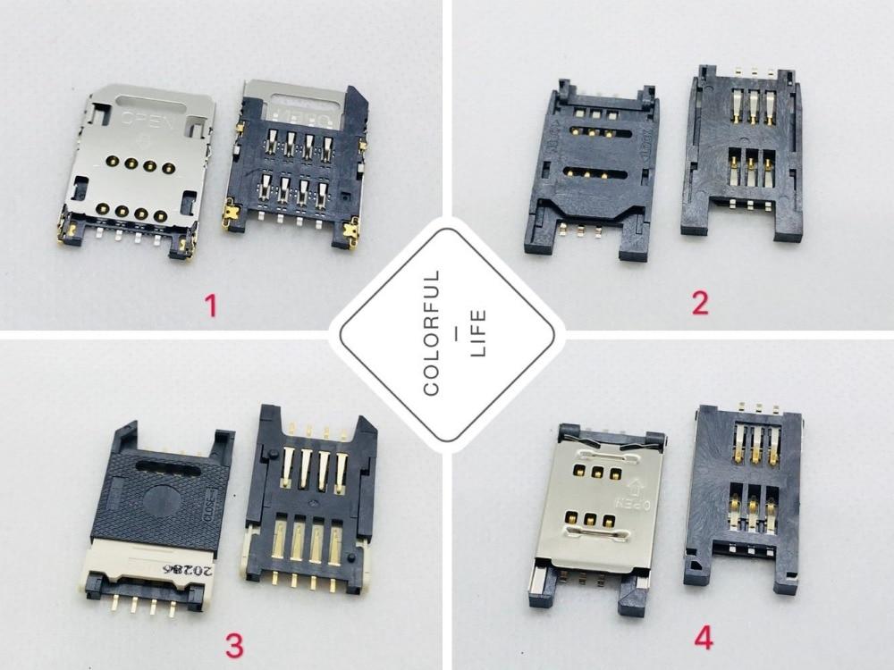 Sim Card & Tools Big Sim Flip Card Socket 6pin Old Machine Panel Pc Domestic Cellphone Adapter Slot Tray Connector Motherboard Repair Ffc Letcon