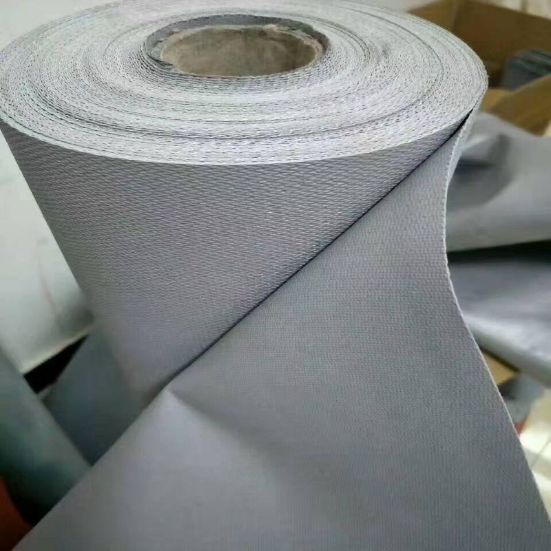 Fait sur mesure En Silicone En Caoutchouc Enduit En Fiber De Verre Tissu résistant Au Feu Tissu Antidéflagrants 100 cm 120 cm 150 cm 200 cm x 100 cm Gris