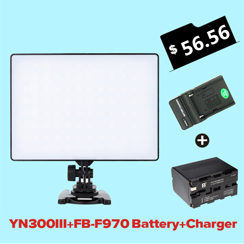 YONGNUO YN-300 Air LED Camera Video Light 3200K-5500K with NP- F970 Battery + Charger Kit  for Canon Nikon Sony DSLR & Camcorder coaching leadership styles and players satisfaction