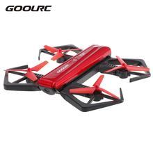 GoolRC T33 WIFI FPV 720P HD Kamera Drone Quadcopter G-érzékelő Mini Összecsukható RC Selfie Pocket Drone Magasságtartó Quad Aircraft