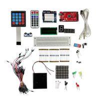 Arduino breadboard 메가 2560 r3 lcd1602 부저를위한 새로운 별 장비는 blight 조정 가능한 저항을지도했다