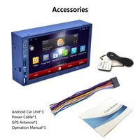K9 7 Inch EU Map Touch Capacitive Screen For Android 5 1 Bluetooth Player Car DVD