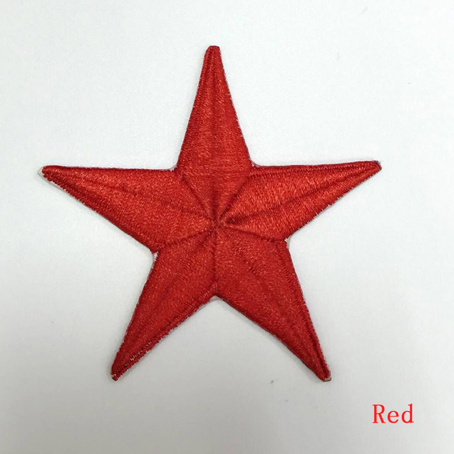 Aliexpress Buy 2016 New Patch Five Pointed Star Clothes