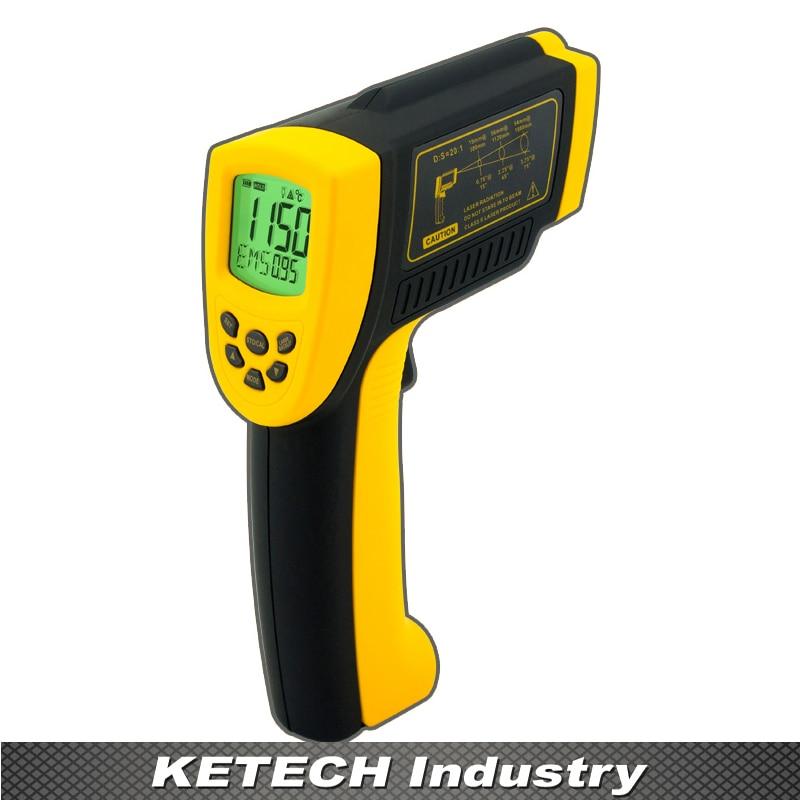 AR872D Infrared Laser Non-Contact Digital Thermometer dt85811h non contact digital infrared thermometer w laser orange black
