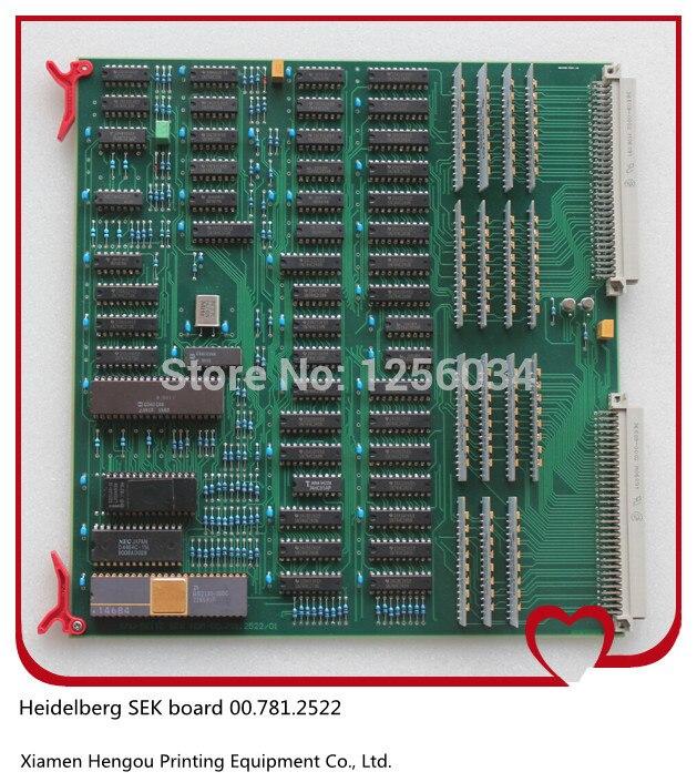 все цены на 1 piece SEK board for offset machine heidelberg 00.781.2522, SEK 1 card, SEK-1 00.781.2522 онлайн