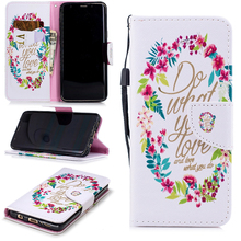 Case For Samsung Galaxy S9 S8 Plus Case Wallet Coloured Drawing PU Leather Flip Cover for Samsung Galaxy S7 S6 edge Phone Cover cheap Wallet Case 16*9*2 For Samsung Galaxy S9 S8 S7 S6 3D Viewer Dirt-resistant Anti-knock Kickstand With Card Pocket Heavy Duty Protection