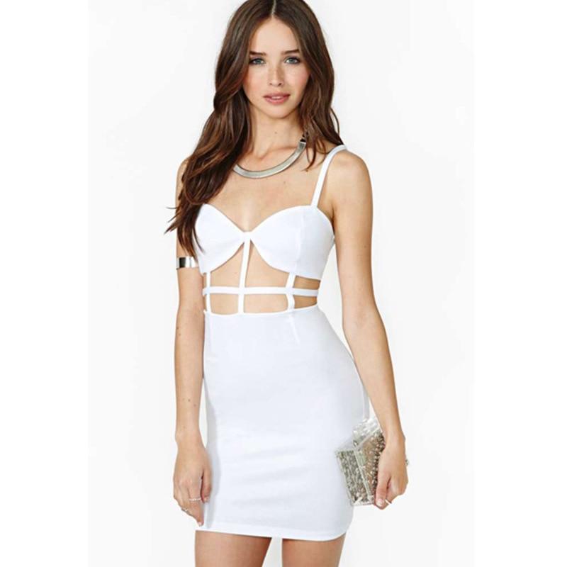 Imgenes De Cheap White Plus Size Club Dresses
