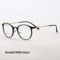9896 vintage full rim popular style for unisex optical frame myopia spectacles prescription eyewear eyeglasses