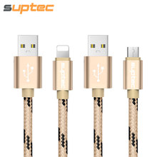 USB Cable for Lightning iPhone 7 6S 6 SE 5S 5 iPad Micro USB Cable for Samsung S6 S7 Xiaomi Huawei LG Fast Charger Adapter Cord