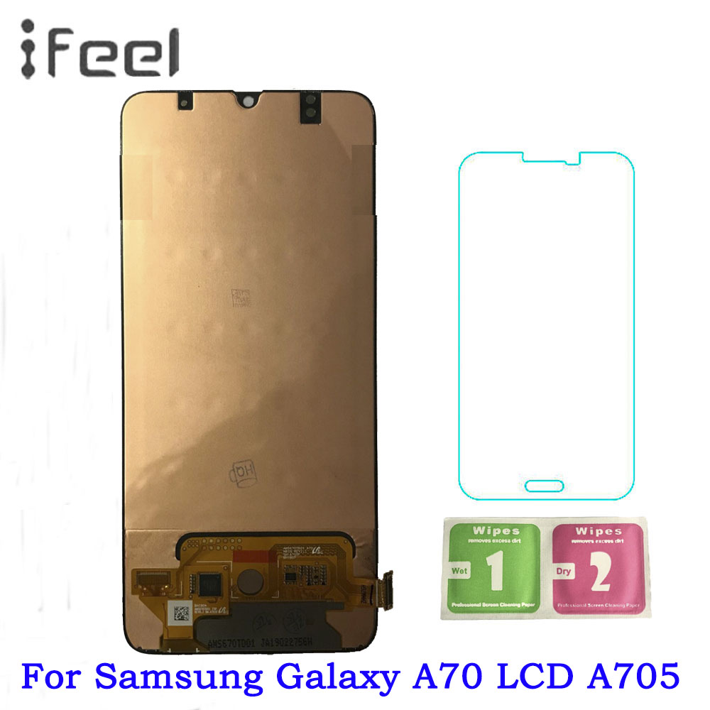 For Samsung Galaxy A70 A705 A705F SM-A705F LCD Display + Touch Screen Digitizer Assembly For SAMSUNG A70 A705DS LCD For Samsung Galaxy A70 A705 A705F SM-A705F LCD Display + Touch Screen Digitizer Assembly For SAMSUNG A70 A705DS LCD