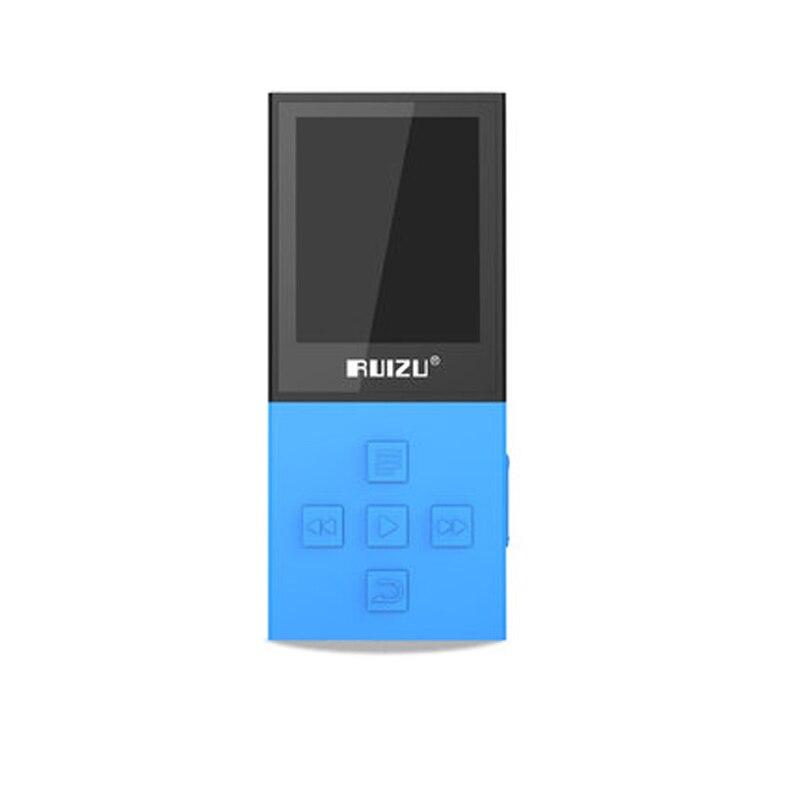 оригинальный ruizu времени х18 связь Bluetooth спорт МР3-плеер с 8 г может playing130hours высокое качество без потерь записи ФМ для блютуз говорить