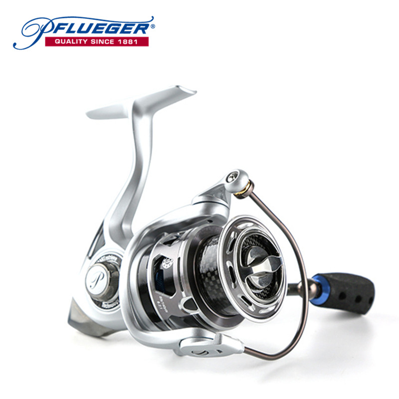 Pflueger PARXTSP Pre-Loading Spinning Reel 10+1BB 6.2:1 2 Series Left/Right Hand Durable Fishing Accessories Pesca Angler Tool 3bb ball bearings left right interchangeable collapsible handle fishing spinning reel se200 5 2 1 with high tensile gear red