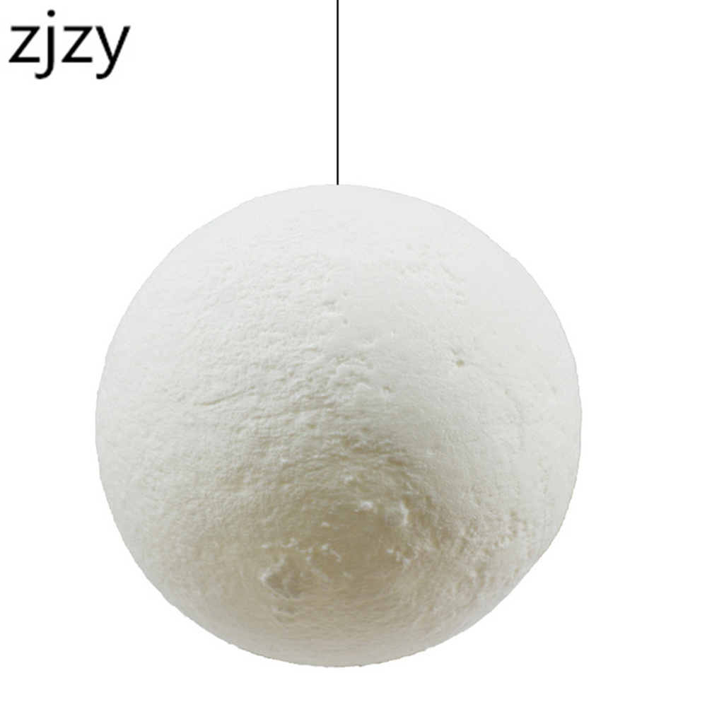 New Arrival Hanging 13-20cm Globe 3D Moon Lamp Remote Control RGB LED Night Light USB Moonlight Wood Stand