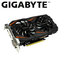 GIGABYTE การ์ด GTX1060 3 GB กราฟิกการ์ดโดย NVIDIA Geforce gtx 1060 OC GDDR5 192 บิต Hdmi Vga ใช้การ์ดการ์ด