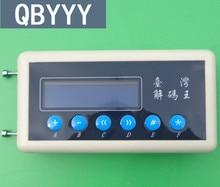 QBYYY 1 pc 433 Mhz Detector de Código De Scanner de Código de Controle Remoto 433 Mhz copiadora chave