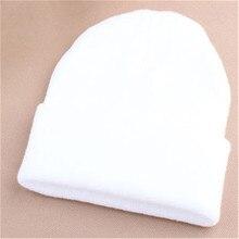 Women s Winter Balaclava Hats Men s Black Knitted Beanie Hat Female Warm  Earwarmer A Cap White Red 92bc8d3b609