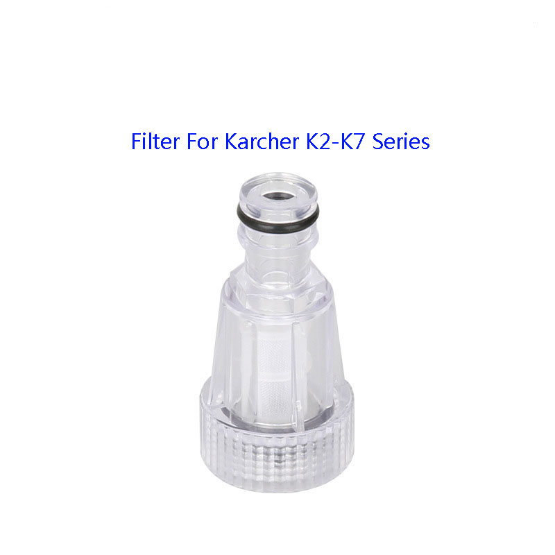 Car Washer Water Filter High-pressure Connection For Karcher K2 K3 K4 K5 K6 K7 Series High Pressure Washers