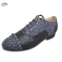 Multicolor Shoes Metal Chain Really Leather Shoes Fashional Genuine Leather Luxury C Designer Comfortable Flats Female