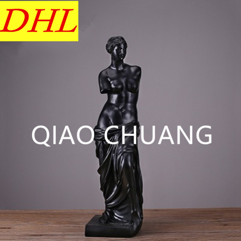 European Style Greek Mythology Aphrodite Venus Anadyomene Figure Sculpture Colophony Crafts Home Furnishing Articles G1023 musician ludwig van beethoven western classical composer chill casting copper head sculpture colophony crafts decoration g1004