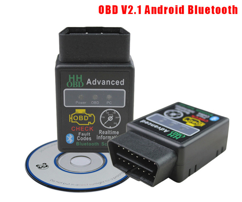 Hiyork Super Mini Auto Car ELM327 HH For Android Bluetooth OBD <font><b>2</b></font> OBD II Protocol Diagnostic Scan Tool elm <font><b>327</b></font> Car Code Scanner image
