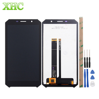 Smartphone Replacement LCD Screen and Digitizer Full Assembly for Doogee S60 / S60 Lite Spare parts