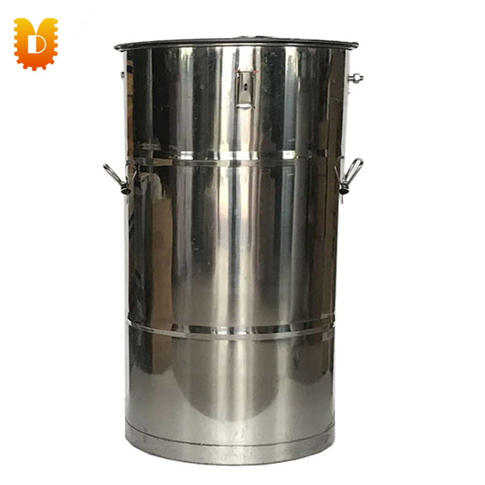Small Capacity Manual Stainless Steel Honey Extractor new best large stainless steel 20 frames honey extractor for apiculture