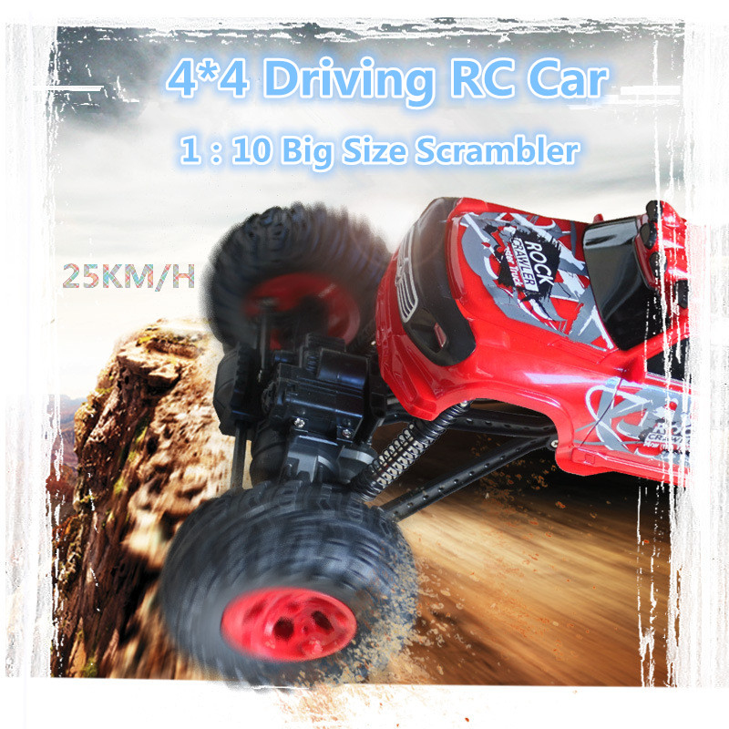 New remote control big foot monster car 2311 series 1:10 41cm 4wd 4*4 driving 25km/h high speed All terrain off road climb car inov 8 сумка all terrain kitbag black