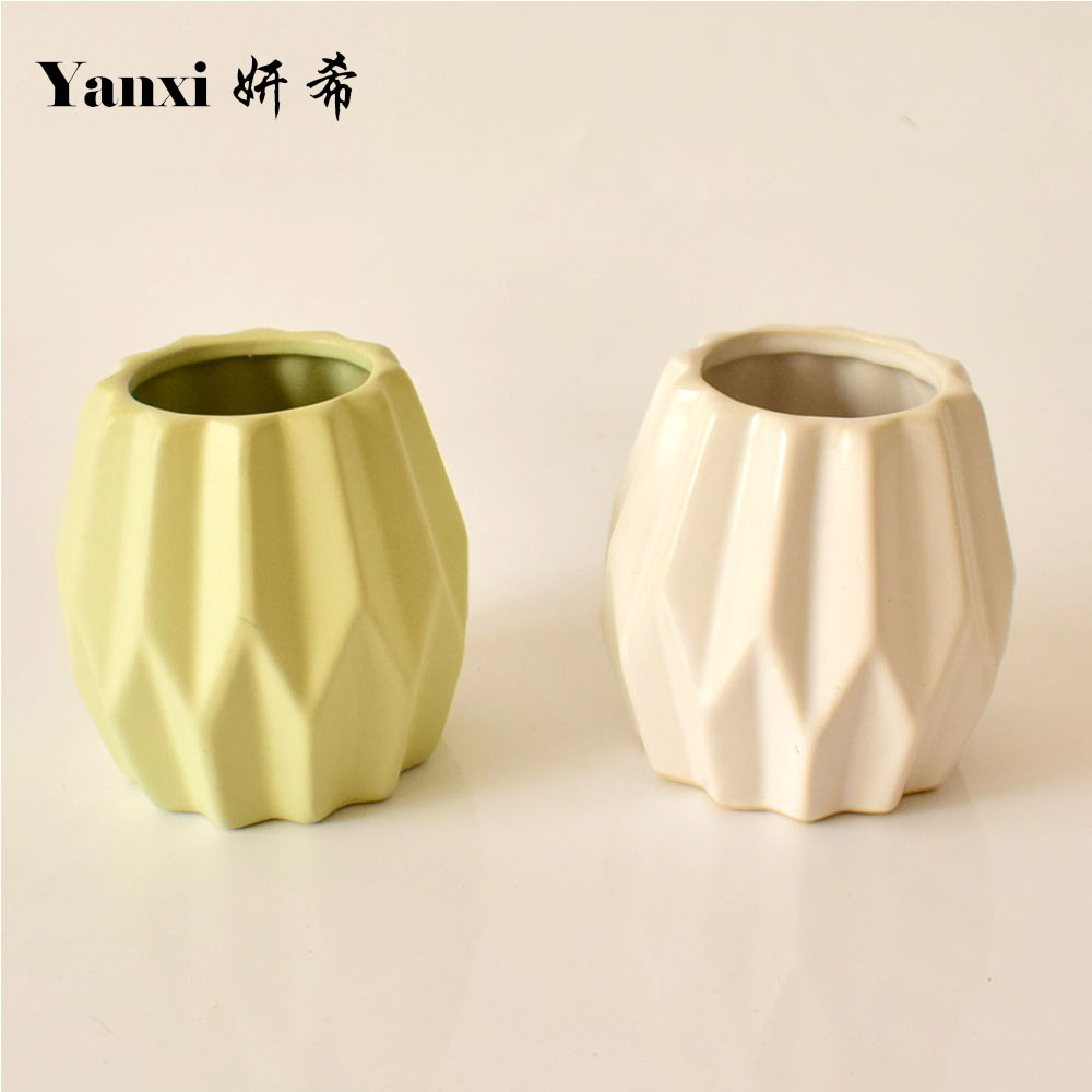 compare prices on small white vase online shoppingbuy low price  - small modern ceramic artificial flowers vase white green for decorativeweddings homes tabletop living room decoration