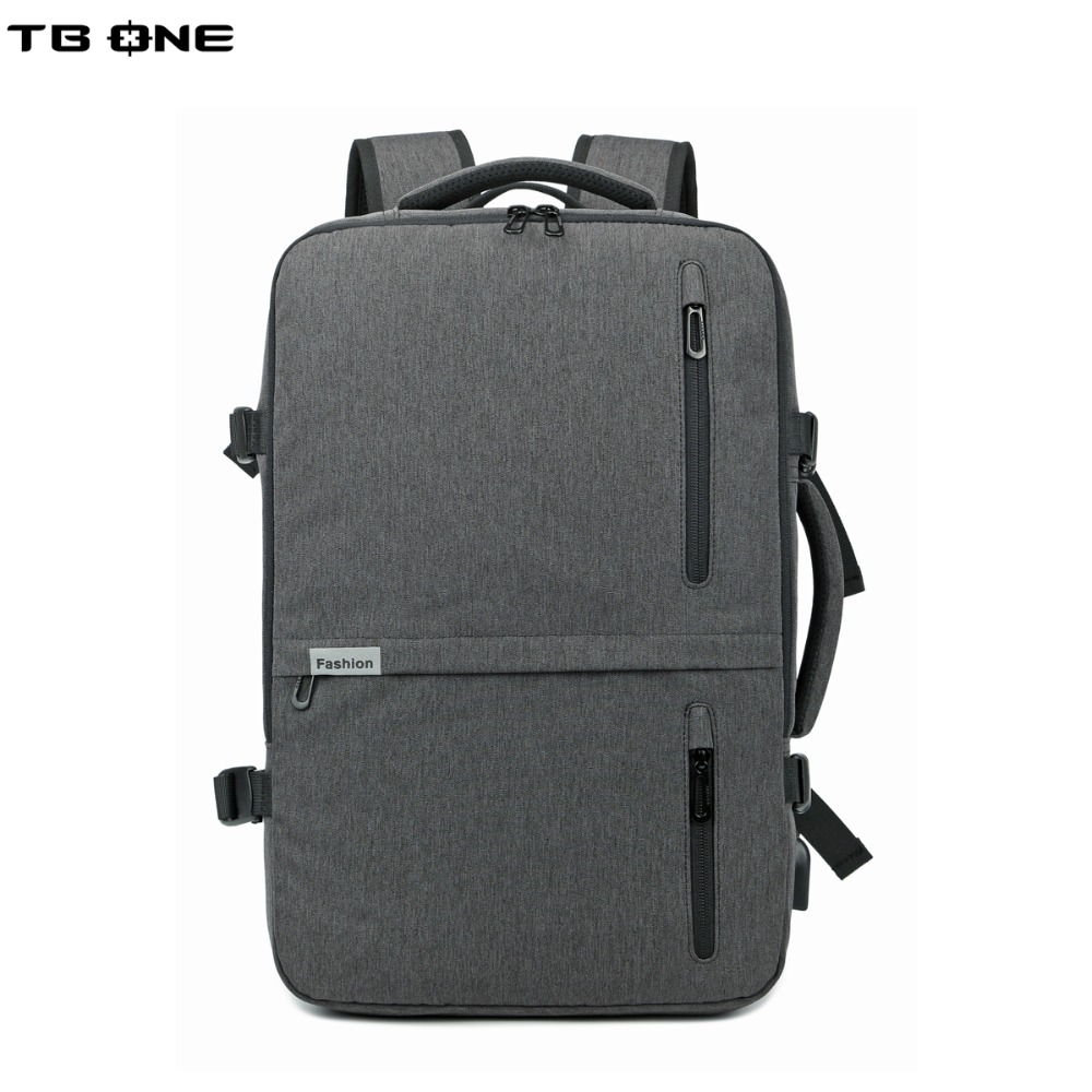 TBONE New 15.6inch Laptop Backpack Male USB charging Business Anti theft Backpack for Men Mochila Fashion Travel Backpacks men s backpack anti theft usb charging travel backpack waterproof nylon unisex school bags for female laptop business backpack