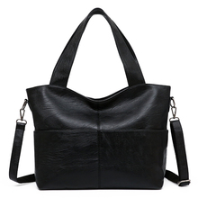 shoulder crossbody bag for women PU Leather handbags vintage black ladies hand tote sling messenger bags purse bolsos mujer sfg house women pu leather handbags purses fashion female shoulder bag messenger bag ladies crossbody tote bag bolsos mujer
