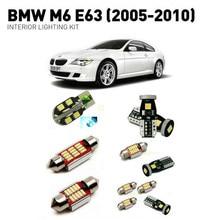 цена на Led interior lights For BMW m6 e63 2005-2010 13pc Led Lights For Cars lighting kit automotive bulbs Canbus Error Free