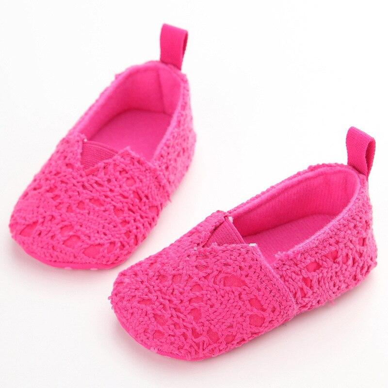 ROMIRUS Babys Stricken Muster Frühling Schuhe Weichbesohlten ...