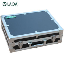 LAOA Thicken Aluminum Portable Hardware Tool Box Tool Kit Toolbox Case To Store Screwdrivers Pliers(China)