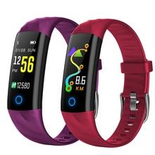 S5 Heart Rate Fitness Bracelet IP68 Waterproof Blood pressure oxygen Monitor Color Screen Activity Tracker Smart Band P30