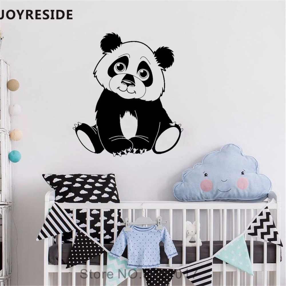 Joyreside Panda Kecil Dinding Stiker Lucu Pandas Dinding Stiker Animal Vinil Stiker Rumah Dekorasi Kamar Tidur Bayi Desain Interior A757 Wall Stickers Aliexpress