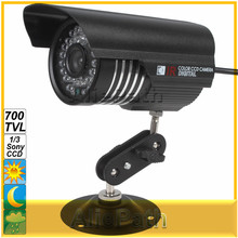 NEW Colorful IR 1200 TVL OSD Menu 1/3 Sony CCD Camera Support IP66 Waterproof with Night Vision