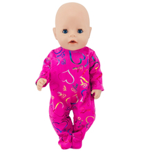 Born New Baby Fit 18 inch 43cm  Clothes For Doll Peach Heart Red Clothes Accessories For Baby Birthday Gift