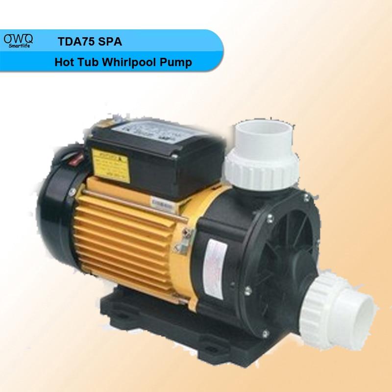 TDA75 220V 550W Circulation Bathtub SPA Hot Tub Whirlpool Pump lx h30 rs1 3kw hot tub spa bathtub heater