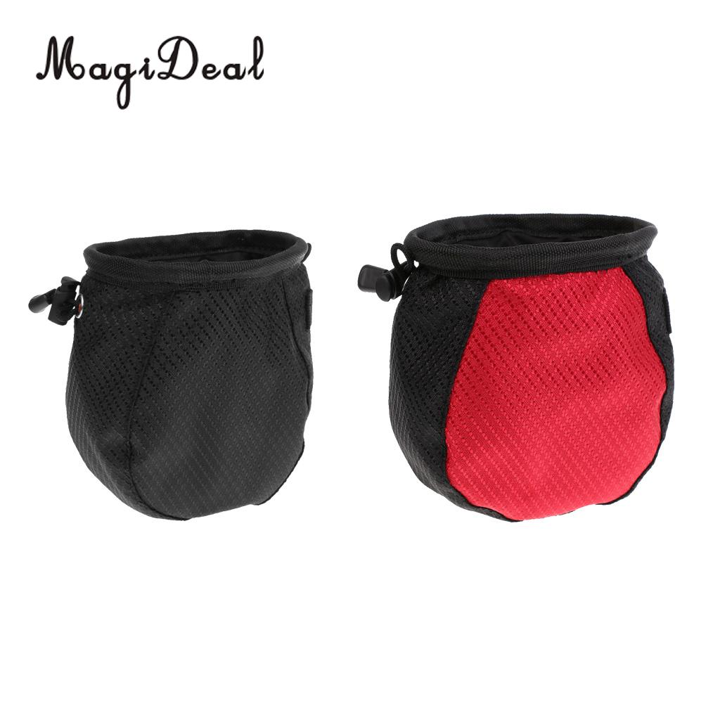 MagiDeal Professional Waterproof Pocket Golf Ball Washer Cleaner Pouch & Adjustable Belt Clip Golfer Gift for Outdoor Golf Game