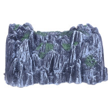 Plastic 1:87 Scale Model Toy Train Railway Cave Tunnels Sand Table Model Toy High Quality(China)