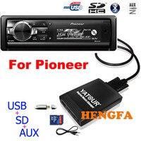 Yatour автомобиль аудио MP3 плеер для Pioneer DEH-P900 KEH-P6200-W MEH-P055 DEH-88 цифровой музыки чейнджер USB MP3 AUX адаптер BT
