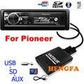 Yatour Coche Reproductor de MP3 de Audio para Pioneer DEH-P900 KEH-P6200-W MEH-P055 DEH-88 Cambiador de La Música Digital MP3 USB AUX Adaptador BT