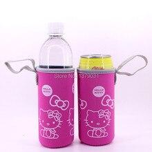 2 шт hello kitty мультфильм чашки наборы кружки наборы для пива неопреновые чашки наборы/2 шт розовый