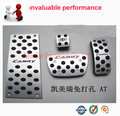No-slips!Gas Fuel Brake Footrest plate non slip Foot rest  AT Pedal Pads Cover For Toyota CAMRY AT
