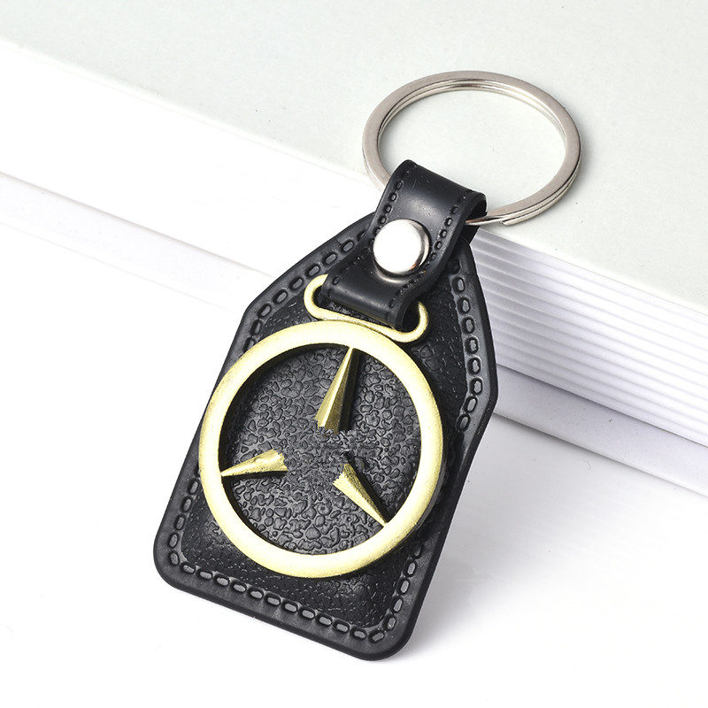 3D Metal Car Key Ring for 1Pc Car Logo Keychai Fashion Brand New Auto Supplies Emblem Keychain Car Accessories Key Chain88 car keychain key ring pendant metal alloy logo car emblem keyrings for vw audi toyota universal benz bmw car styling accessories