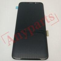 삼성 g950w g950u 디스플레이 화면 모듈에 대 한 삼성 갤럭시 s8 g9500 g950f 디스플레이 lcd 화면 교체에 대 한 원래 amoled