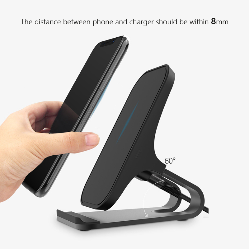 9V 5V frequency converter fast Qi wireless charger quick charge QC 3 0 2 0 enabled cell mobile phone for Samsung for Meizu etc in Car Chargers from Cellphones Telecommunications