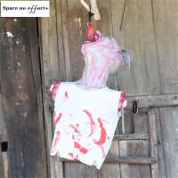 White hanged ghost Home Door Bar Club Halloween Decorations Halloween Hanging Ghost Skeleton Hanging Decoration Outdoor Party