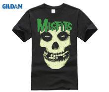 c92de135dafc0 Free shipping Authentic THE MISFITS Band Fleshy Skull Fiend Face T-Shirt S  M L XL XXL
